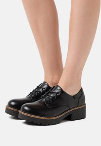 Coolway - CHARIS - Lace-ups - black - 0