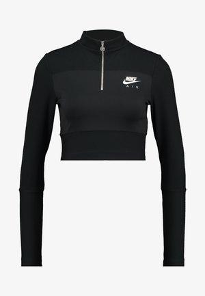 AIR - Top sdlouhým rukávem - black