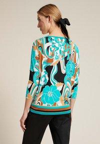 Luisa Spagnoli - BROS - Long sleeved top - var turchese/geometrico - 1