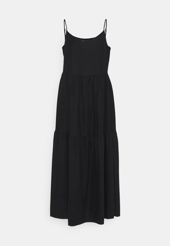 TIERED DRES - Day dress - black