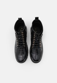 New Look - BOATING  LACE UP - Bottines à lacets - black - 5