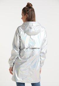 myMo - Parka - silber holografisch - 2
