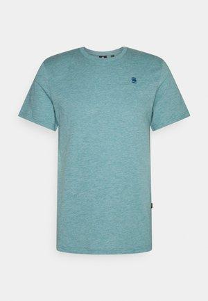 BASE - Basic T-shirt - bright nickel