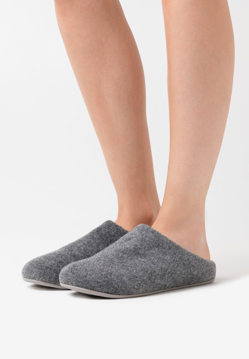FitFlop - CHRISSIE  - Slippers - steel grey