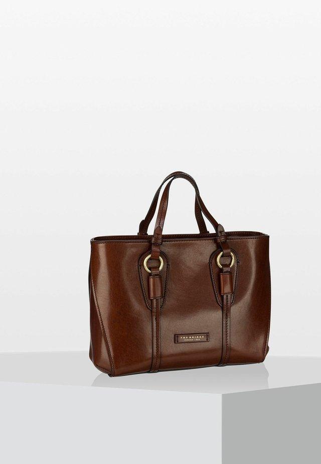 STROZZI  - Handtasche - brown/gold