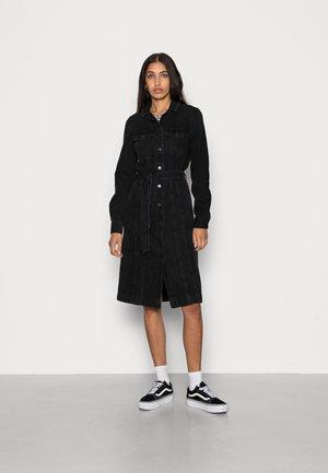VMANNE DENIM DRESS - Denim dress - black