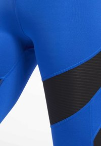 Reebok - WORKOUT READY MESH TIGHTS - Leggings - blue - 3