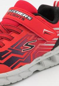 Skechers - MAGNA LIGHTS BOZLER - Trainers - red/black - 5