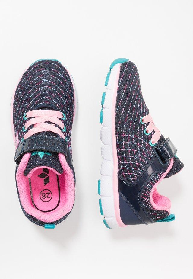 FESTIVAL - Sneakers laag - marine/rosa/türkis