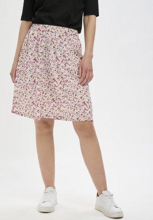 A-line skirt - pink petit fleur
