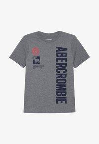 Abercrombie & Fitch - PRINT LOGO - Print T-shirt - grey - 2
