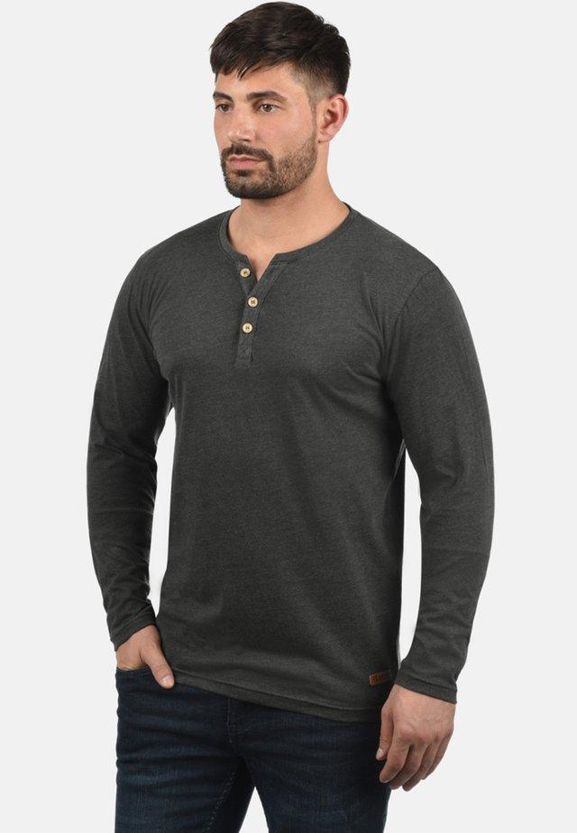VOLKO - Langærmede T-shirts - dark grey