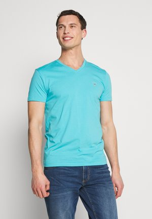 THE ORIGINAL  SLIM FIT - Basic T-shirt - light aqua
