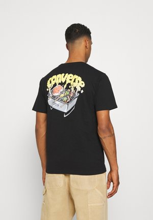 SUMMER COOKOUT SHORT SLEEVE TEE - T-Shirt print - black