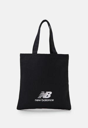 POOL TOTE UNISEX - Shopping bag - black/white