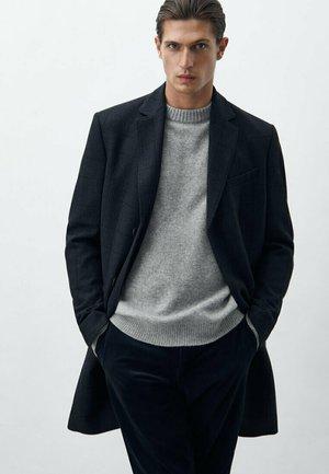 MIT KAROMUSTER - Short coat - dark blue