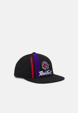 NBA TORONTO RAPTORS TEAM STRIPE DEADSTOCK - Kšiltovka - black