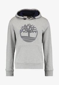 Timberland - TREE LOGO - Hoodie - medium grey heather - 4