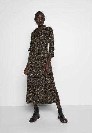 PCROSIA MIDI DRESS  - Shirt dress - black