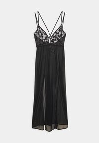 Bluebella - VIVIANA LONG CHEMISE - Nightie - black - 0