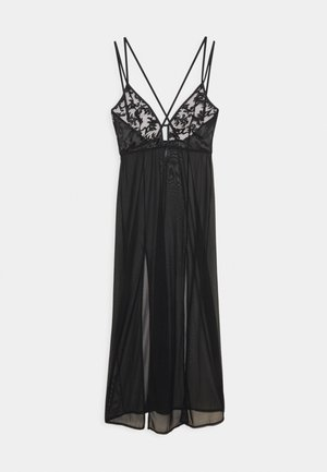 VIVIANA LONG CHEMISE - Nightie - black