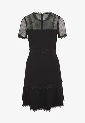 STEPHS PONTE DRESS - Jersey dress - black