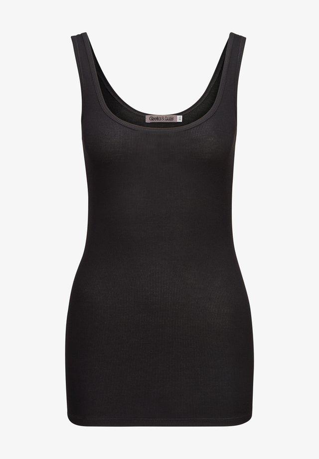FLORA - Top - black