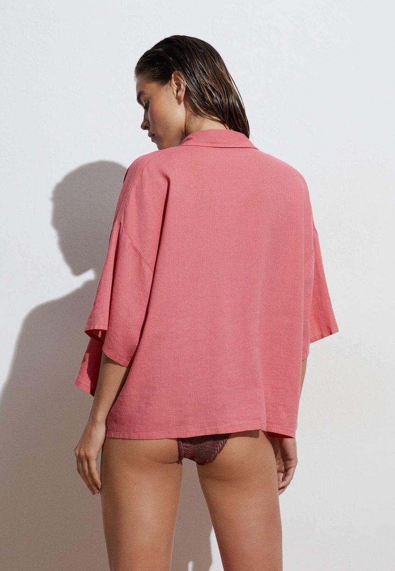 OYSHO - Button-down blouse - pink