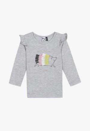 Long sleeved top - light china grey