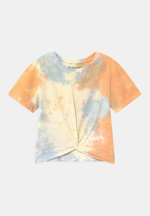 GIRLS BOXY  - T-shirt z nadrukiem - orange