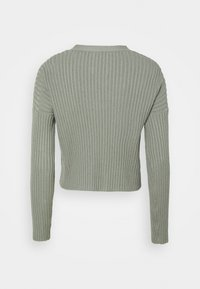 Abercrombie & Fitch - BRAMI TWINSET  - Cardigan - olive green - 1