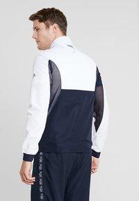 Lacoste Sport - TENNIS JACKET DJOKOVIC - Träningsjacka - white/navy blue - 2