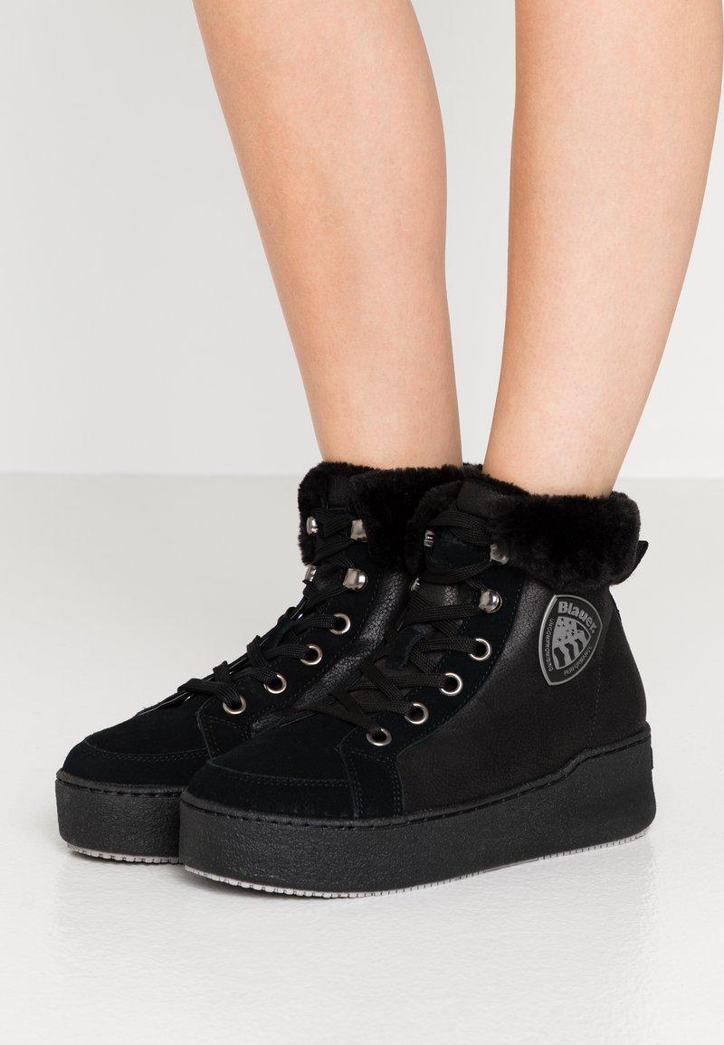 Blauer - MADELINE - Kotníková obuv - black