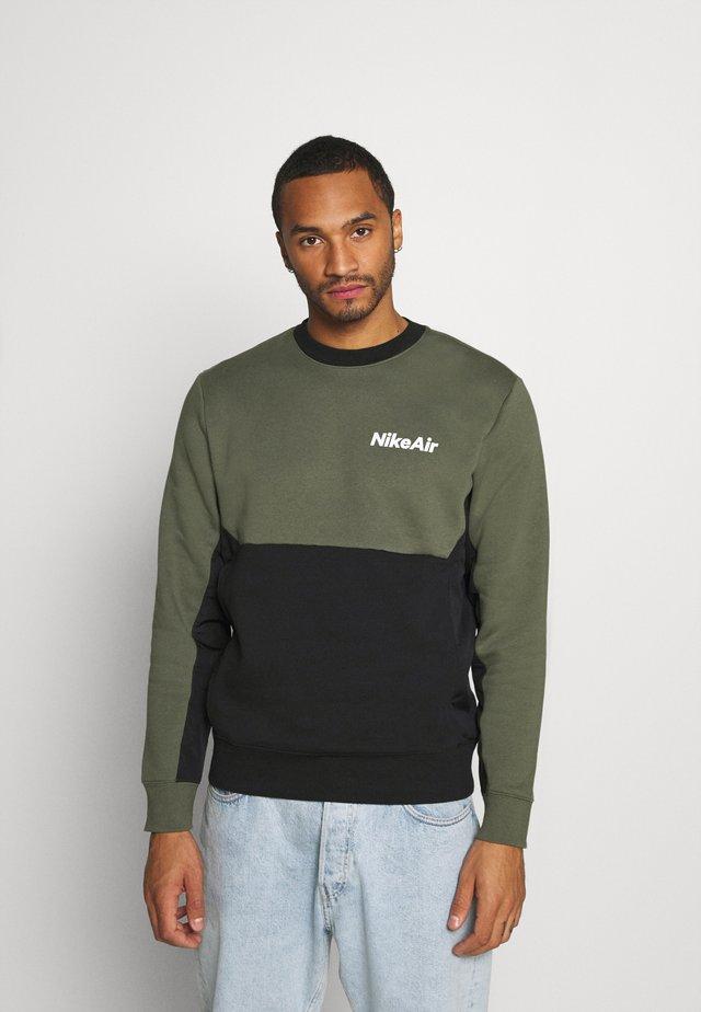 AIR CREW - Sweatshirt - twilight marsh/black/white