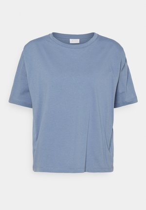 VISHOULDE - Basic T-shirt - colony blue