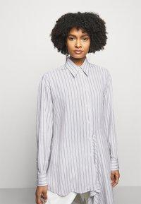 MM6 Maison Margiela - Button-down blouse - white - 3