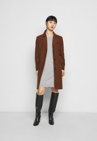 ONLY Petite - ONLAMALIA DRESS - Jumper dress - light grey - 1