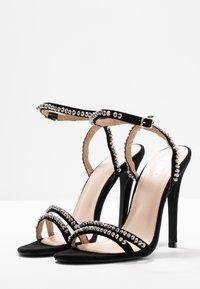 BEBO - NATALIE - Sandály na vysokém podpatku - black - 4