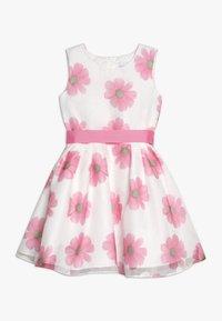 happy girls - Vestido de cóctel - weiß/ pink - 0