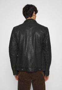 Lindbergh - LEATHER JACKET - Leather jacket - black - 2