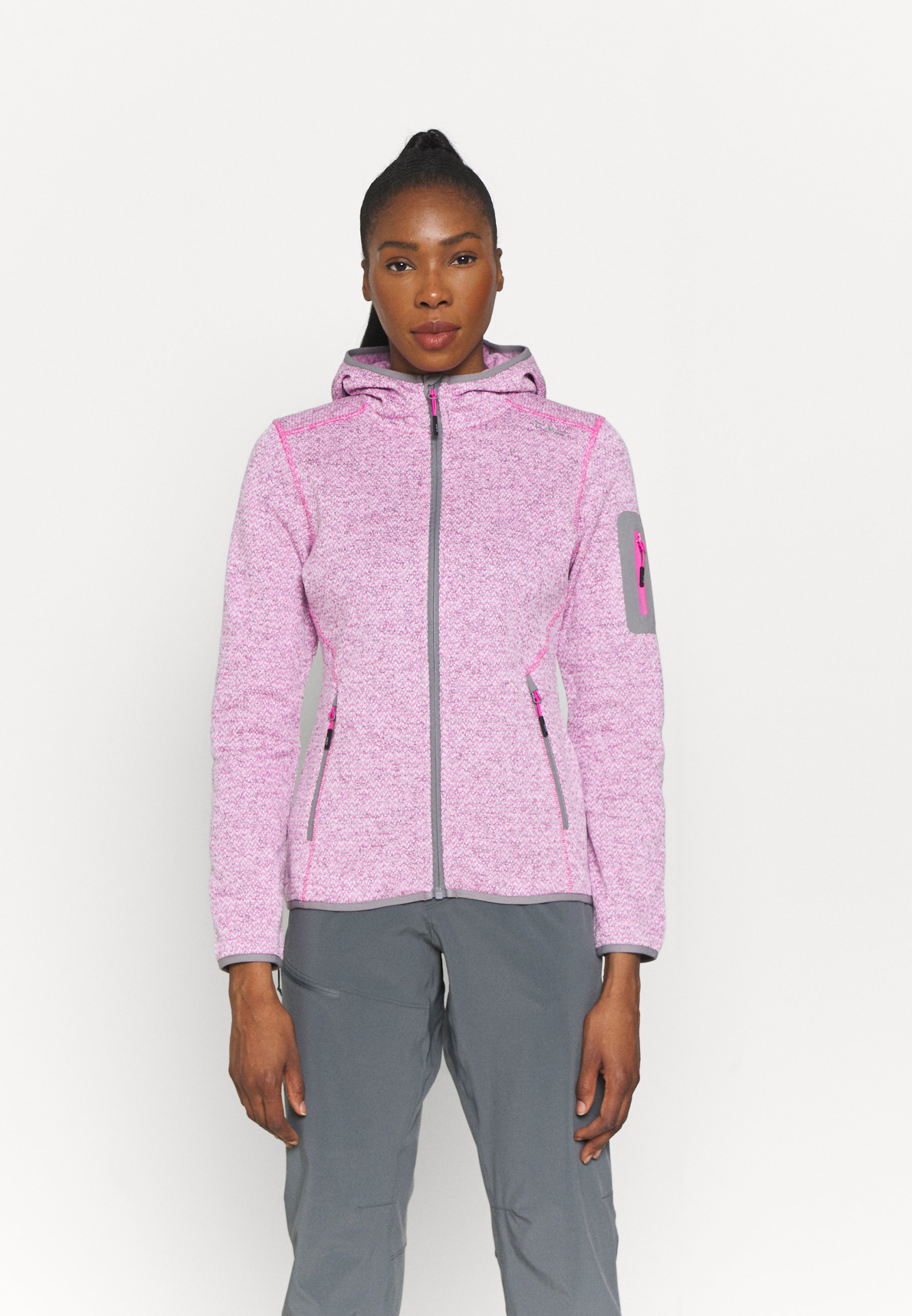 Women WOMAN FIX HOOD JACKET - Fleece jacket