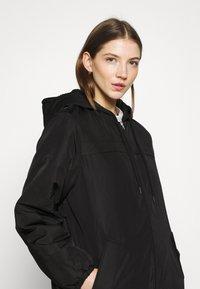 Weekday - MAY LONG JACKET - Winter coat - black - 3