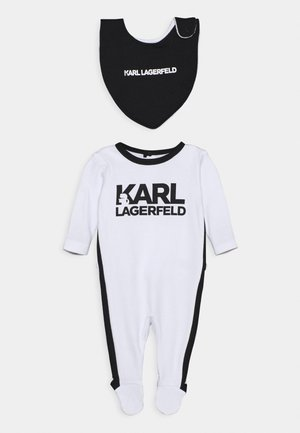 BIB BABY UNISEX - Sleep suit - white/black