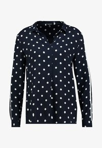 More & More - DOTTED BLOUSE - Blůza - marine - 4