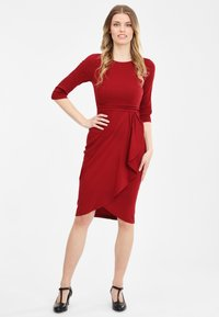 Collectif - CHANTELLE - Cocktail dress / Party dress - burgundy - 0