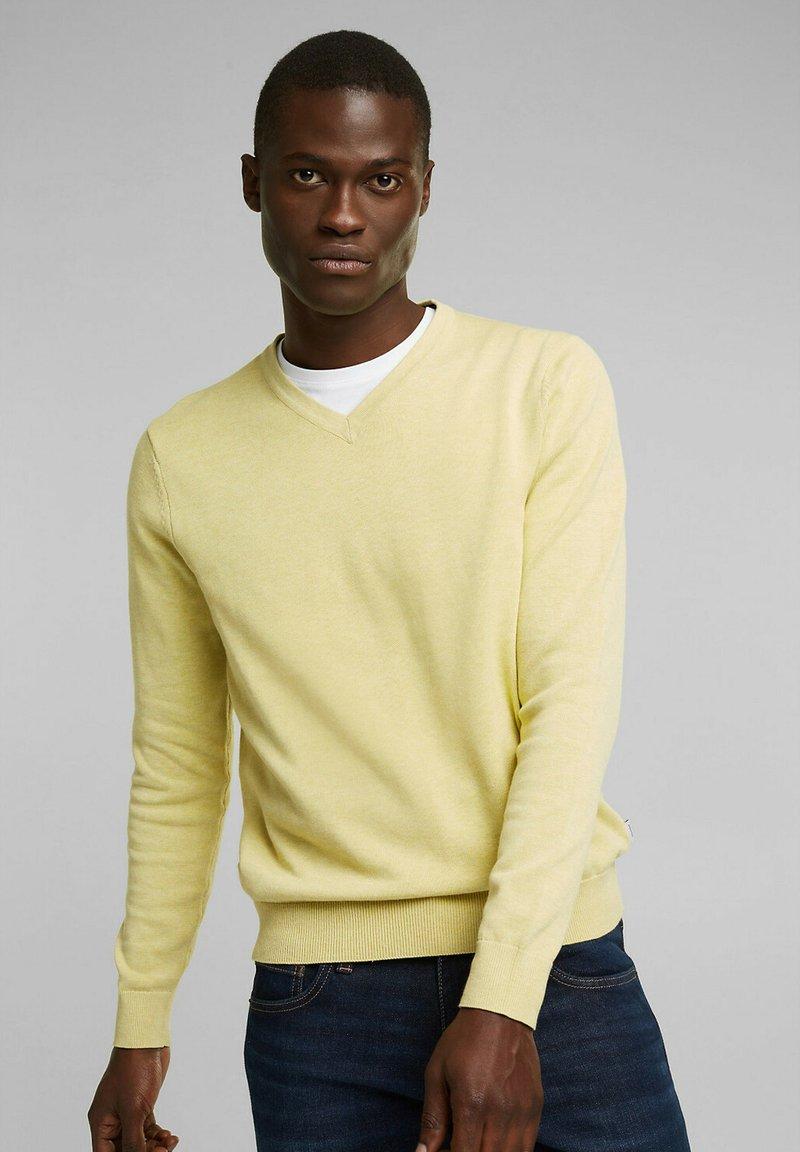 Esprit - Jumper - light yellow