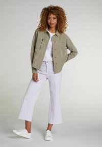 Oui - Denim jacket - khaki - 1