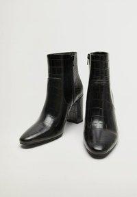 Mango - CALEO - Classic ankle boots - schwarz - 1