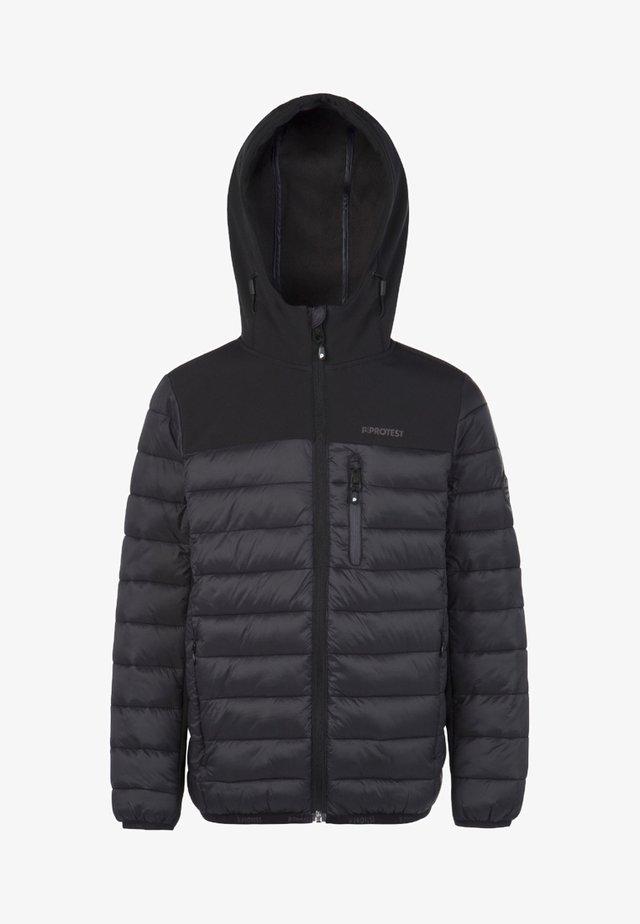 GONZO JR - Soft shell jacket - true black