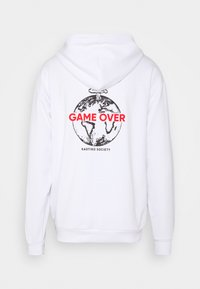 Kaotiko - SUD CAP GAME OVER UNISEX - Hoodie - off white - 1